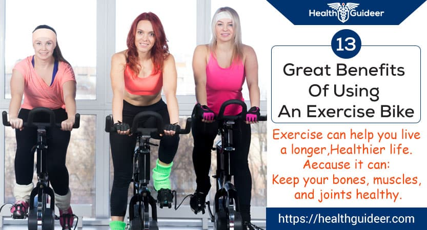 13 Health Benefits of Exercise Bikes – Fitness Guides