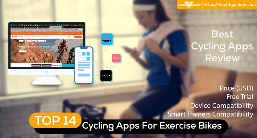 Top 14 Free and Paid Indoor Cycling Apps For Exercise Bikes