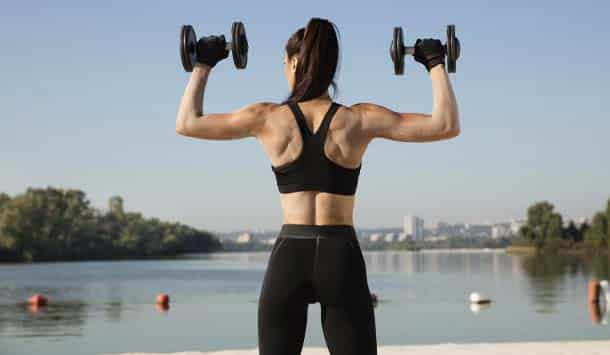 Strength training/weight lifting is Easy Ways To Burn 100 Calories