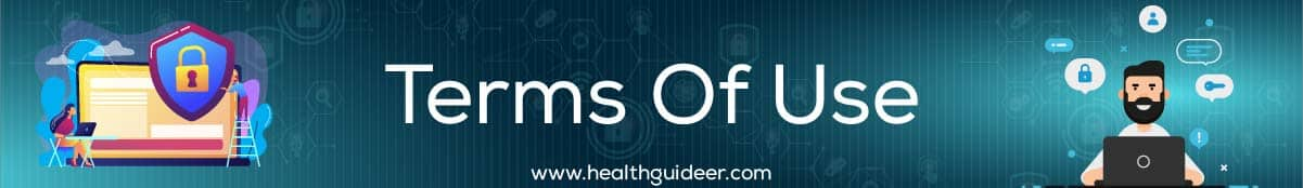 Terms Of Use Healthguideer